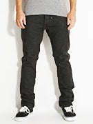 KR3W Slim Rehab Jeans  Dark Black