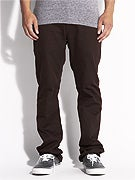 KR3W K Slim 5 Pocket Twill Pants  Brown