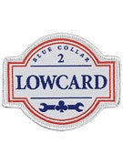 Lowcard Blue Collar Patch