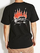 Lowcard Burning Man Van by Dan Drehobl T-Shirt