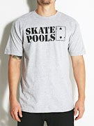 Lowcard Skate Pools Peacock Benefit T-Shirt