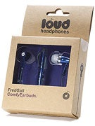 Loud Headphones Fred Gall Earbuds  Navy