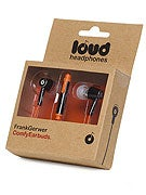 Loud Headphones Frank Gerwer Earbuds  Black/Orange