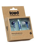 Loud Headphones Kenny Anderson Earbuds  Blue/Light Blue