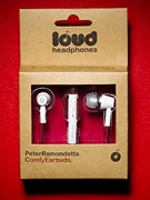 Loud Headphones Peter Ramondetta Earbuds  White