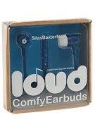 Loud Headphones Silas Baxter-Neal Earbuds Blue