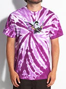 L.E. Devil Bat Tie Die T-Shirt