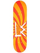 L.E. OG Logo Swirl Orange Deck 8.25 x 31.88