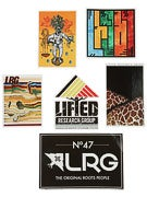 LRG Fall 14 Stickers 12 Pack