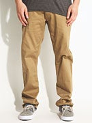 LRG Team True Skate Chino Pants  Dark Khaki