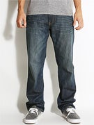LRG True Straight Jeans Worn Vintage Wash