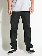 LRG True Straight Jeans Raw Black