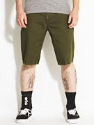 LRG Core Collection TS Chino Shorts Dark Olive