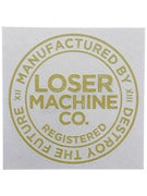 Loser Machine Registered Sticker