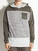 Lost Warped Pullover Knit Shirt