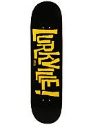 Lurkville Logo Black/Gold Deck 8.5 x 32.25