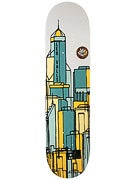 Magenta Leo Valls Cityscape Deck 8.0 x 31.5