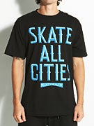 Mighty Healthy Skate All Cities T-Shirt
