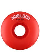 Mini Logo C-Cut Red 101a Wheels