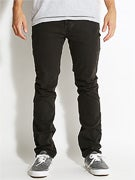 Matix Gripper Slim Straight Jeans Black Ring