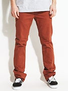 Matix Gripper Twill Pants  Rust