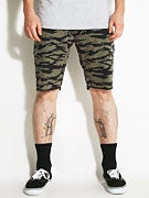 Matix Gripper Twill Shorts Tiger Dyed Camo
