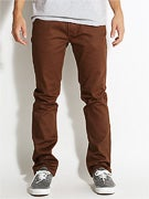 Matix MJ Gripper Twill Denim Pants Chocolate