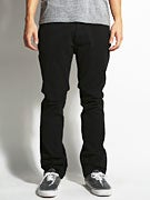 Matix MJ Gripper Twill Denim Pants  Black
