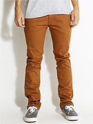 Matix Welder Slim Stretch Pants Caramel
