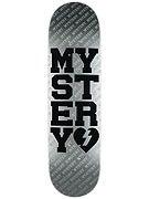 Mystery Varsity Silver Dura-Slick XL Deck  8.5 x 32.5