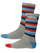 Nor Cal Bear Stripe Socks