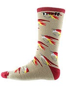 Neff Fly Fishin Socks Brown