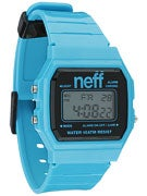Neff Flava XL Watch Cyan/Black