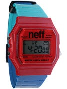 Neff Flava XL Surf Watch Red/Blue/Teal