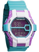 Neff Recon Watch Teal/Purple