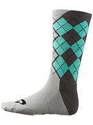 Nike SB Argyle Dri-Fit Socks Dark Base Grey/Mint