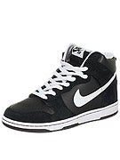 Nike SB Dunk High Pro Shoes  Black/White