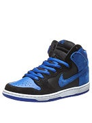 Nike SB Dunk High Pro Shoes  Black/Game Royal