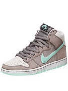 Nike SB Dunk High Pro Shoes  Soft Grey/Mint