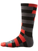Nike SB Striped Dri-Fit Socks Black/Crystal Mint