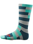 Nike SB Striped Dri-Fit Socks Base Grey/Mint