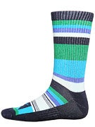 Nike Stripes Skate Socks Fiberglass/Teal