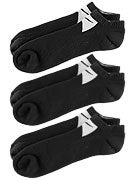Nike Skate No Show 3pack Socks Black