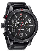 Nixon The 48-20 Chrono Watch  All Black/Multi