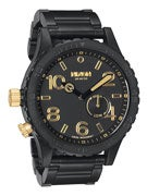 Nixon The 51-30 Watch Tide Matte Black/Gold