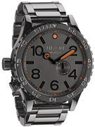 Nixon The 51-30 Watch  Steel Gray