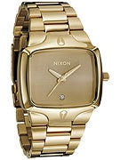 Nixon The Player Watch  Gold/Gold