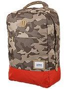 Nixon Beacons Backpack Khaki Camo/Red Pepper