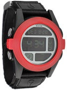 Nixon The Baja Watch  All Black/Red
