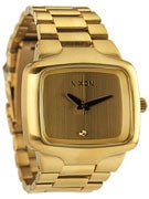 Nixon The Big Player Watch  All Gold